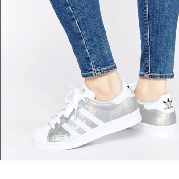 Adidas superstar Hologram sneakers